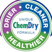 drier cleaner healthier badge
