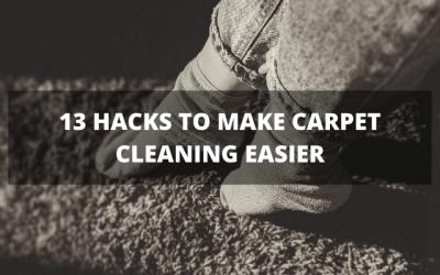 13 Hacks To Make Carpet Cleaning Easier